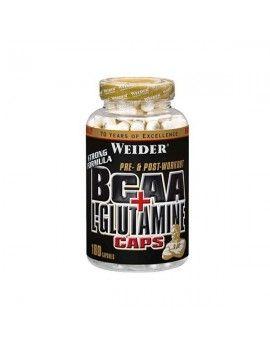 Bcaa + L-Glutamina - 180 Cáps