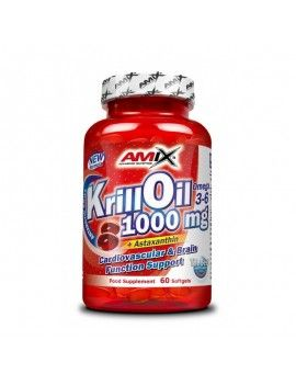 Krill Oil 1000mg - 60 Cáps