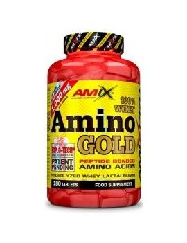 Whey Amino Gold - 180 Tabletas