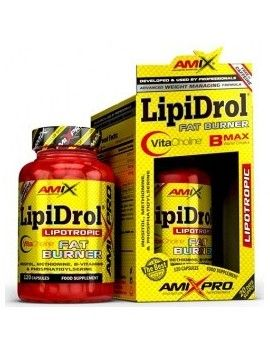 LipiDrol Fat Burner 120 Tabletas