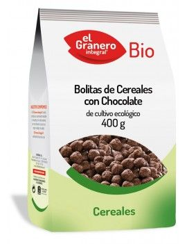 Bolitas de cereales con chocolate, 400g
