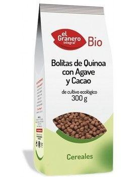 Bolitas de Quinoa con Agave y Cacao, 300g