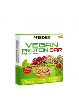 Vegan Protein Bar - 3x35g