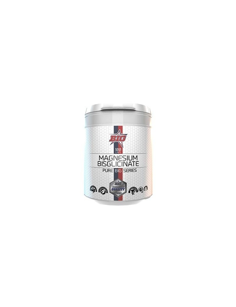 Bisglicinato de Magnesio - 100 cáps