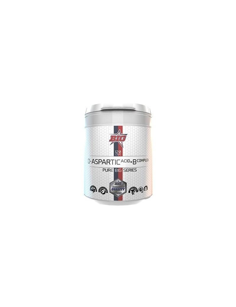 D-aspartic acid + B complex 120 cáp