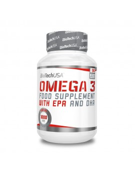 Omega 3 con EPA y DHA BioTechUSA 90 cápsulas