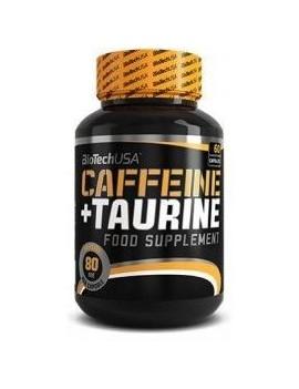 Cafeína + Taurina BiotechUSA 60 cápsulas