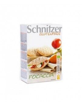 Schnitzer focaccia sin gluten 220g (2u)