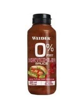Salsa ketchup 0% grasa 265ml Weider