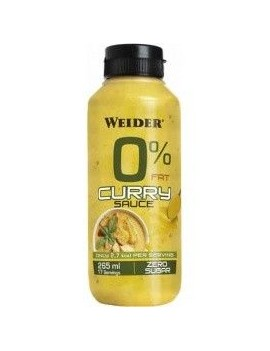 Salsa curry 0% grasa 265ml Weider