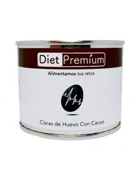 Lata de Clara de Huevo con Cacao