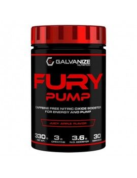 Creatina FURY PUMP, Sabor Manzana, 330g