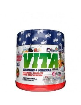 VITA Vitaminas & Minerales- 120cáps