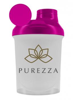 Shaker Purezza 300ml Rosa