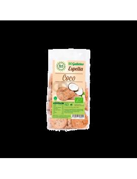 Galletas de espelta con coco Bio