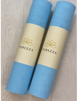 Esterilla Yoga Azul Turquesa