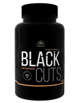 Black Cuts 90 Caps Purezza
