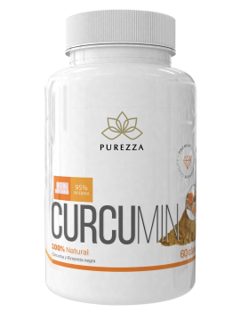 Curcumin 60 cápsulas Purezza