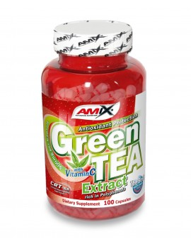 Green Tea - 100 Cáps