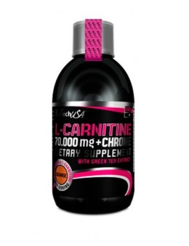 L-Carnitina 70,000 + Chrome 500 ml