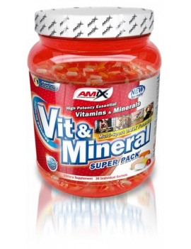 Vit & Mineral Super Pack - 30 Packs