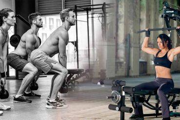 Entrenar con pesos libres vs. entrenar con máquinas